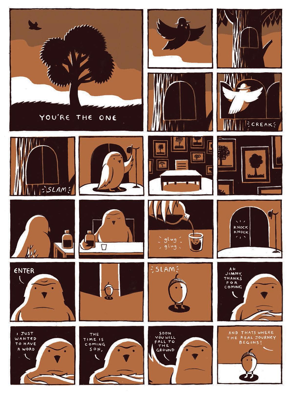 Hiut-yearbook-one-comic